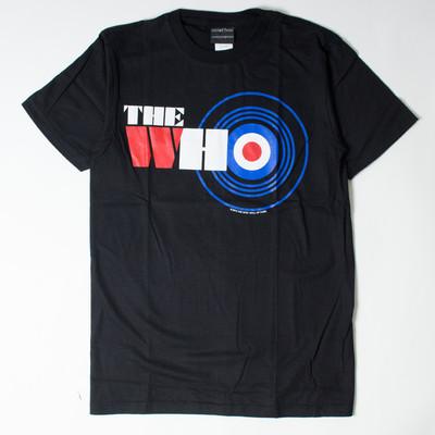 ロックTシャツ The Who ザ フー トリコロールロゴ wft-0462