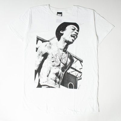 プリントTシャツ ウィズ・カリファ ウェイン メンズ/レディース/半袖/Tシャツ/半袖Tシャツ/プリント/秋 mao-0023