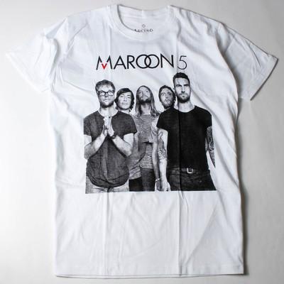 ロックTシャツ Maroon 5 マルーン5 メンバー ebi-0300