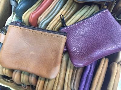 coin purse コインケース/チャック中 1個あたり600円 10個セット カラーMIX アソート ast-0019