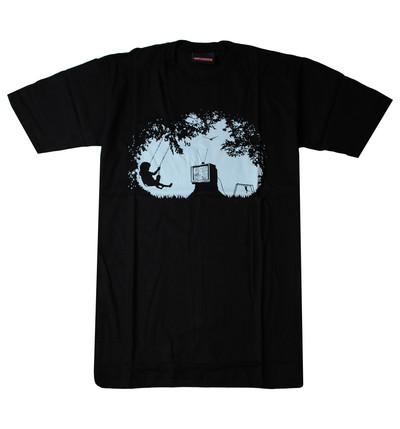 プリントTシャツ Dream of childhood 幼少期の夢 メンズ/レディース/半袖/おもしろ/おしゃれ udt-0023(unf-)