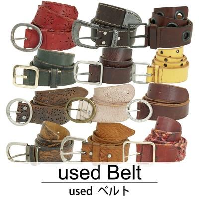 used Belt 古着 ベルト 1本あたり700円 10本セット MIXアソート use-0120