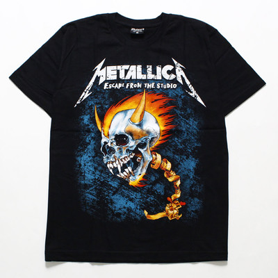 ロックTシャツ Metallica メタリカ ESCAPE FROM THE STUDIO reo-0347