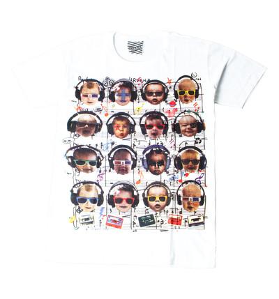 プリントTシャツ music babys メンズ/レディース/半袖/おもしろ/おしゃれ ara-0181