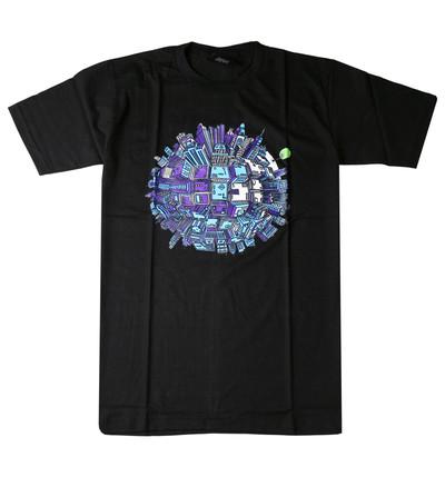プリントTシャツ Last Tree on Earth メンズ/レディース/半袖/おもしろ/おしゃれ udt-0007(unf-)