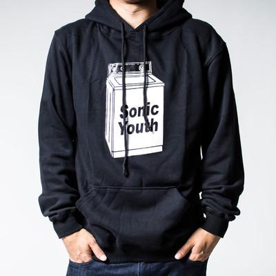 プルオーバー ロックパーカー Sonic Youth ソニック ユース Washing Machine フード/パーカー/メンズ agp-0038