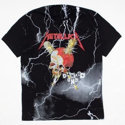 ロックTシャツ METALLICA メタリカ DAMAGE INC. mf2-0016