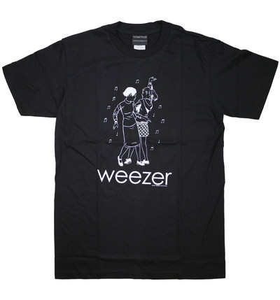 ロックTシャツ Weezer ウィーザー ダンス wft-0455