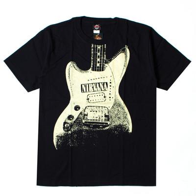 ロックTシャツ Nirvana ニルヴァーナ ギター gts-0191
