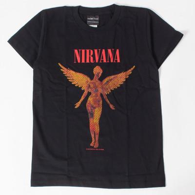 ロックTシャツ Nirvana ニルヴァーナ In Utero イン ユーテロ wft-0228