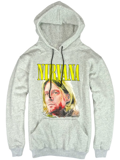 プルオーバー ロックパーカー Nirvana ニルヴァーナ カート コバーン agp-0006