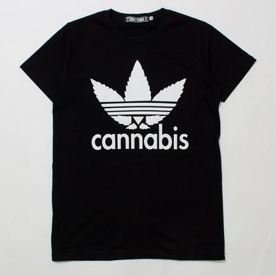 デザインTシャツ Cannabis カンナビス jpt-0004