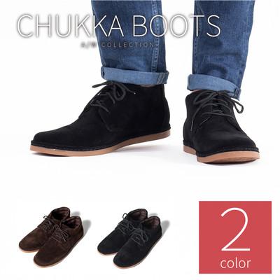 チャッカブーツ デザートブーツ フェイクスウェード メンズ チャッカ ブーツ デザートブーツ 靴 シューズ チェック フェイク スウェード スエード tas-0003