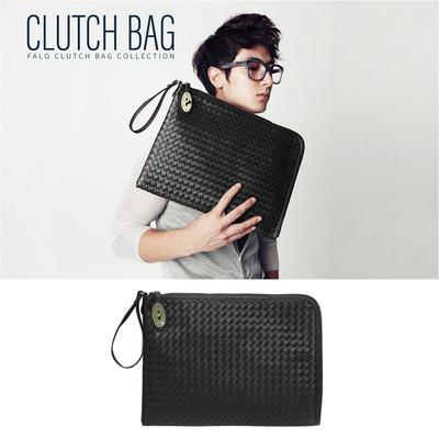 クラッチバッグ メンズ レザー メッシュ 2way ショルダーバッグ 編込 メッシュ セカンドバッグ バッグインバッグ 小さめ 黒 結婚式 人気 斜めがけ かばん 鞄 バッグ ccb-0006
