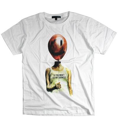 プリントTシャツ SO YOU WON'T SEE MY SADNESS メンズ/レディース/半袖/おもしろ/おしゃれ grt-0020
