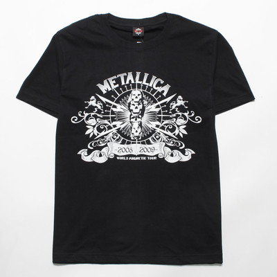 ロックTシャツ METALLICA メタリカ WORLD MAGNETIC TOUR gts-0314