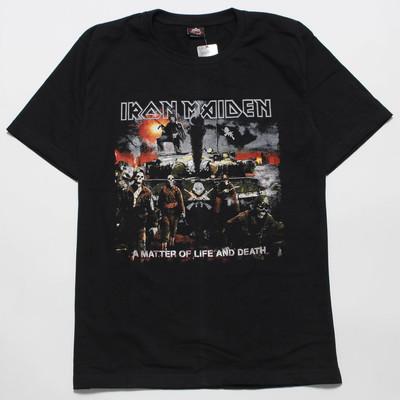 ロックTシャツ IRON MAIDEN アイアン・メイデン A MATTER OF LIFE AND DEATH gts-0318