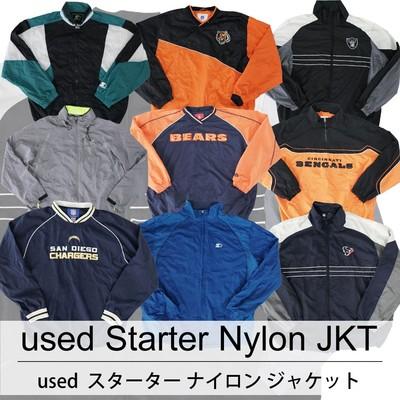 used Starter Nylon JKT 古着 ユーズド スターター ナイロン ジャケット 1枚あたり1800円 6枚セット サイズ カラーMIX アソート use-0212