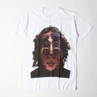 ロックTシャツ John Lennon ジョン レノン メガネ ebi-0334