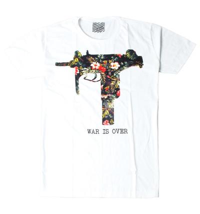 プリントTシャツ War Is Over メンズ/レディース/半袖/おもしろ/おしゃれ ara-0182