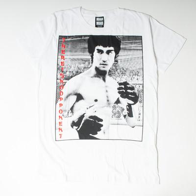 プリントTシャツ ブルース・リー no oppoment メンズ/レディース/半袖/Tシャツ/半袖Tシャツ/プリント/秋 mao-0018