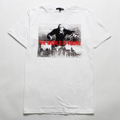 デザインTシャツ マウンテンゴリラ The World Is Yours grt-0005