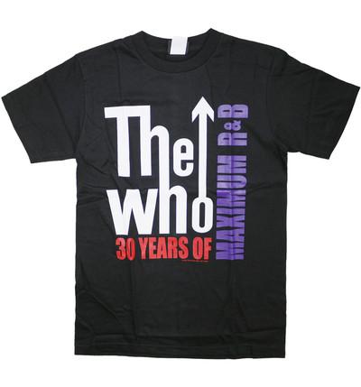 ロックTシャツ The Who ザ フー 30YEARS OF MAXIMUM R&B wft-0459