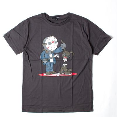プリントTシャツ POP ジェイソン メンズ/レディース/半袖/おもしろ/おしゃれ grt-0045-c1