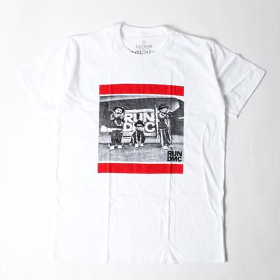 ロックTシャツ RUN DMC ラン ディーエムシー メンバー ebi-0323