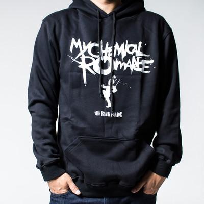 プルオーバー ロックパーカー My Chemical Romance マイ ケミカル ロマンス The Black Parade agp-0029