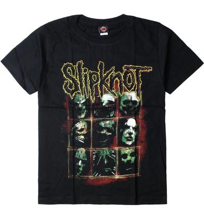 ロックTシャツ SlipKnoT スリップノット メンバー gts-0270