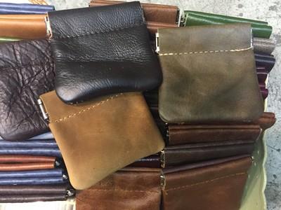 coin purse コインケース/パチっと開くタイプ 1個あたり550円 10個セット カラーMIX アソート ast-0020