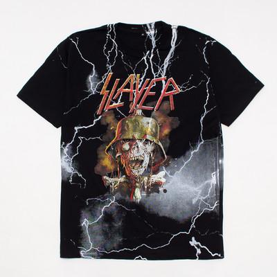 ロックTシャツ Slayer スレイヤー mf2-0028