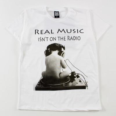 クルーネック プリントTシャツ 赤ちゃんレコード mao-0039