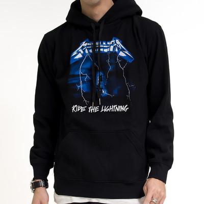 ロックパーカー Metallica メタリカ Ride The Lightning jpr-0002