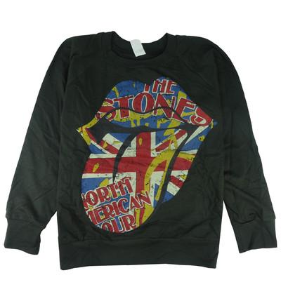 ロックトレーナー 裏パイル地 The Rolling Stones ザ ローリング ストーンズ North American Tour bs2-0004