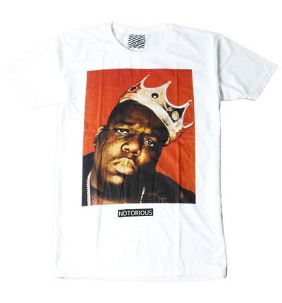 プリントTシャツ Notorious B.I.G メンズ/レディース/半袖/おもしろ/おしゃれ ara-0134