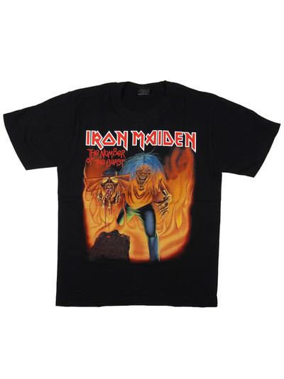 ロックTシャツ Iron Maiden アイアン メイデン The Number Of The Beast reo-0147