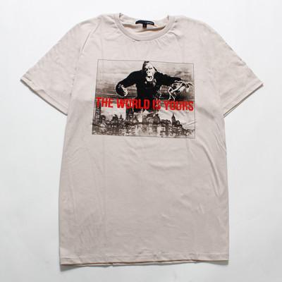 デザインTシャツ マウンテンゴリラ The World Is Yours grt-0005-c1