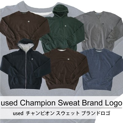 used Champion Swea Brand Logot 古着 ユーズド チャンピオン スウェット ブランド ロゴ 1枚あたり1600円 10枚セット サイズ カラーMIX アソート use-0224