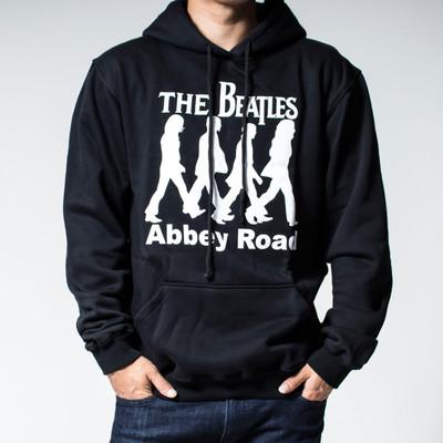 プルオーバー ロックパーカー The Beatles ビートルズ Abbey Road 裏起毛/フード/パーカー/メンズ agp-0025