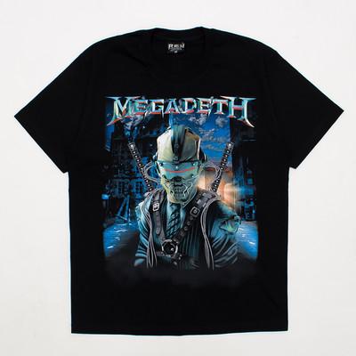 ロックTシャツ MEGADETH メガデス DYSTOPIA reo-0333