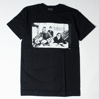 ロックTシャツ Nirvana ニルヴァーナ フォト wft-0238