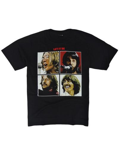 ロックTシャツ The Beatles ザ ビートルズ Let It Be reo-0196
