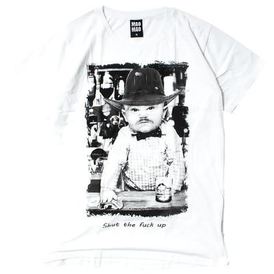 ロゴTシャツ 半袖 クルーネック MAO MAO メンズ レディース コーデ Tシャツ 半袖Tシャツ トップス カットソー カレッジロゴ プリント アメカジ メンズファッション ティーシャツ ロゴT 新作 夏 秋 mmt-4002