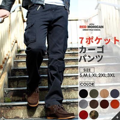 HQ カーゴパンツ Red-Mohican S-3XL メンズ ミリタリーパンツ 迷彩パンツ ワークパンツ カーゴパンツ 迷彩柄 迷彩 ズボン パンツ カーキ オレンジ レッド 黒 赤 ネイビー ダンス カジュアル ストリート 大きいサイズ rcp-0001
