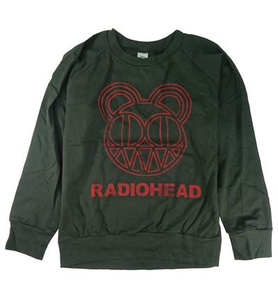 ロックトレーナー 裏パイル地 Radiohead レディオヘッド ベア bs2-0016